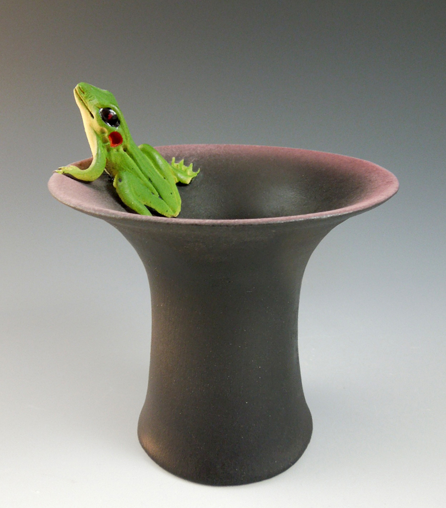 Nancy Adams - Large Frog Bowl