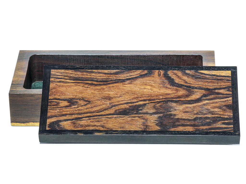 Jeffrey Seaton Signature Series Wooden Box - Cocobolo and Ebony