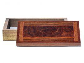 Jeffrey Seaton Signature Series Wooden Box - Australian Red box Burl