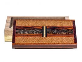 Jeffrey Seaton Signature Series Wooden Box - Leapardwood and Cocobolo