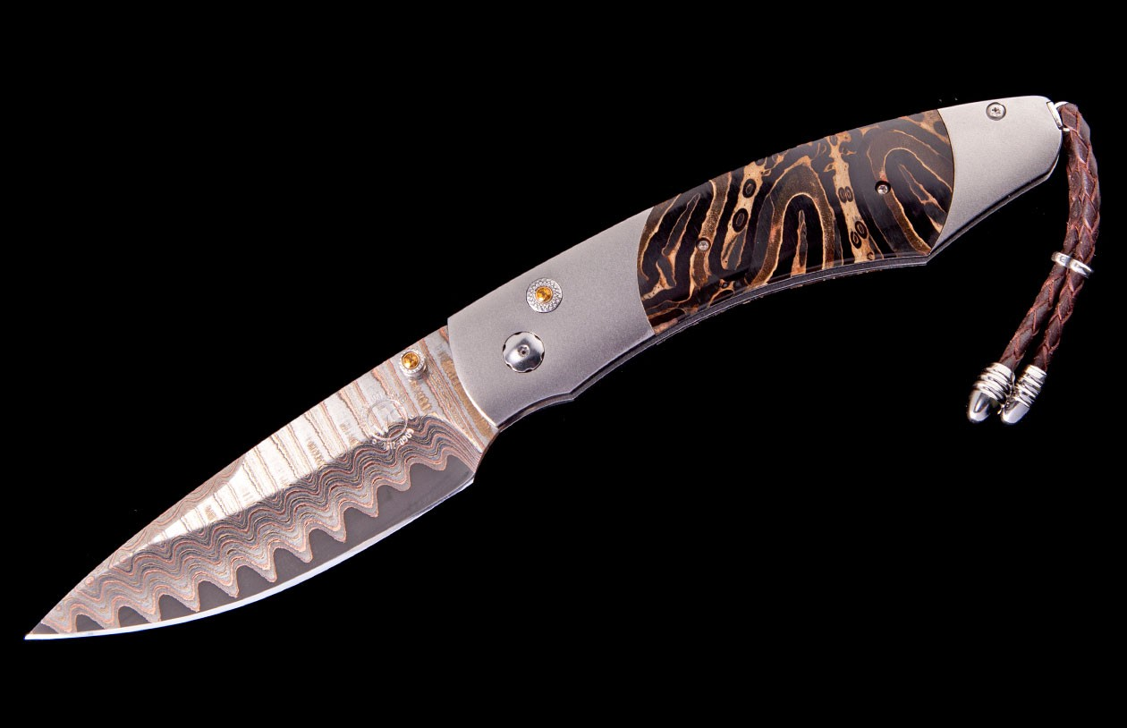 William Henry Limited Edition B12 Sidewinder Knife