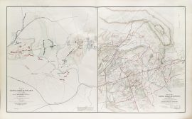 Plans of the Battlefield at Bull Run and Manassas (1891)