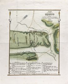 Plan of the Battle of Sacramento Feb. 28th 1847