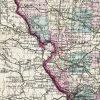 Antique Map - Missouri State Map (1872)