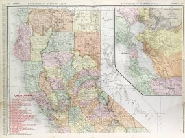 California State Railroad Map (c.1907)