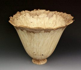 Jerry Kermode - Maple Natural Edge Bowl