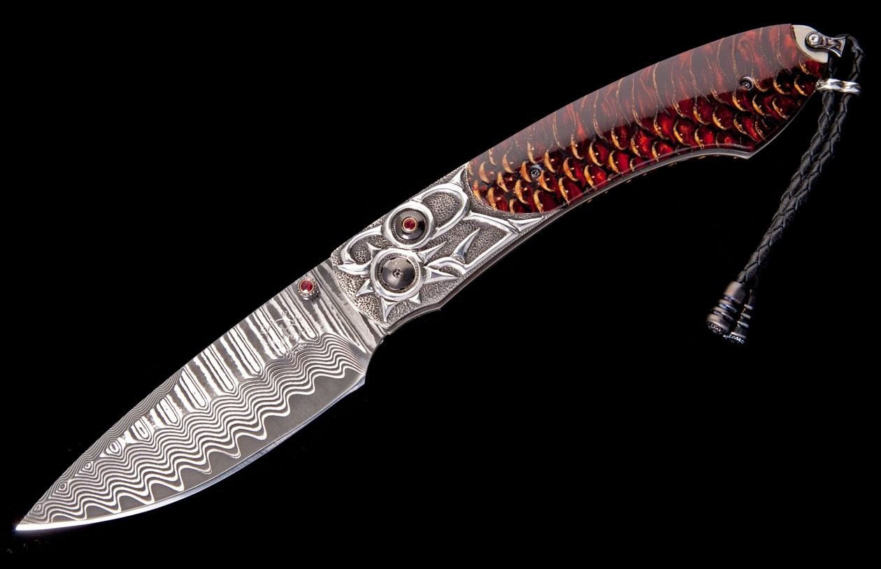 William Henry Limited Edition B12 Red Lodge Knife