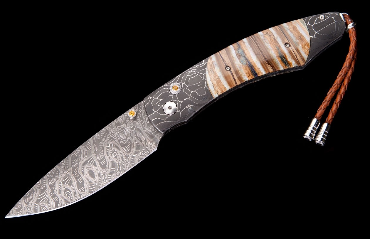 William Henry Limited Edition B12 Auburn Knife