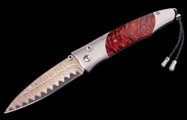 William Henry Limited Edition B30 Red Sun Knife