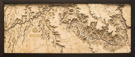Bathymetric Map Grand Canyon