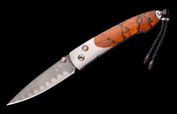William Henry Limited Edition B10 Orange Sky Knife