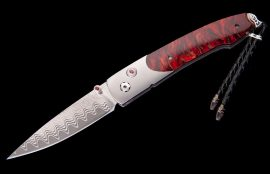 William Henry Limited Edition B10 Scarlet Pine Knife