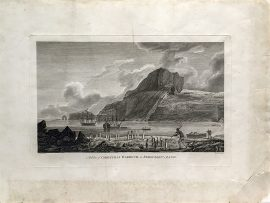 Cook Engravings - A View of Christmas Harbor in Kerguelen's Land