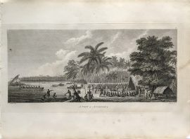 Cook Engraving - A View of Anamooka