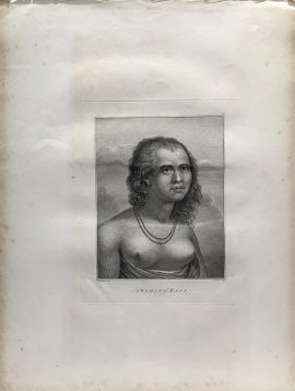 Cook Engraving - A Woman of Eaoo