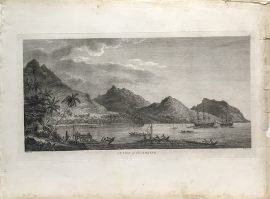 Cook Engraving - A View of Huageine