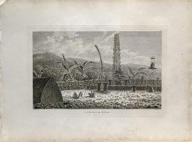 Cook Engraving - A Morai In Atooi