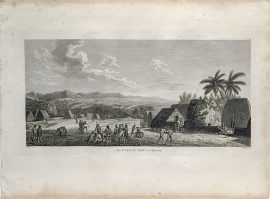 Cook Engraving - An Island View in Atooi