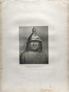 Cook Engraving - A Woman of Nootka Sound