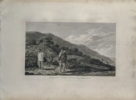 Cook Engraving - Inhabitants of Norton Sound and Their Habitations