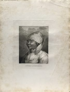 Cook Engraving - A Woman of Kamtschataka