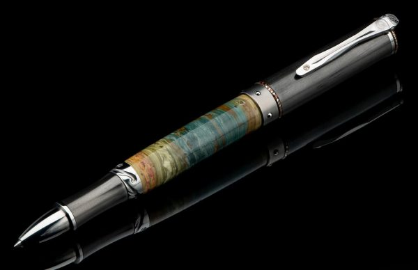 William Henry Cabernet Petrified Rollerball Pen