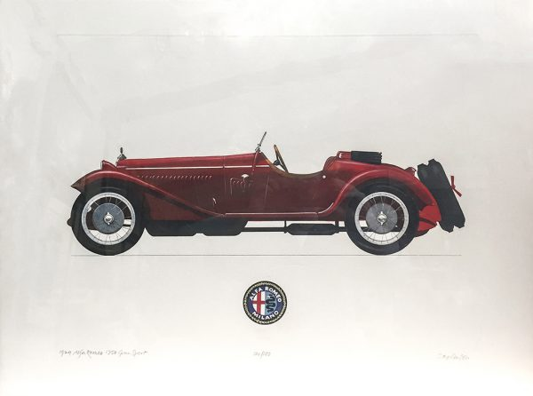 Allan Stephenson - 1929 Alfa Romeo 1750 Gran Sport