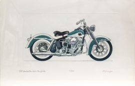 Allan Stephenson - 1958 Harley Davidson Duo Glide