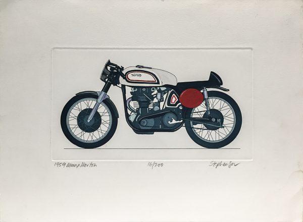 Allan Stephenson - 1959 Manx Norton