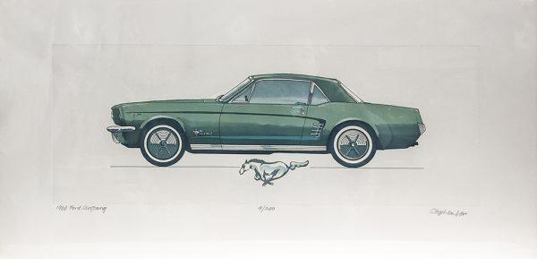 Allan Stephenson - 1966 Ford Mustang