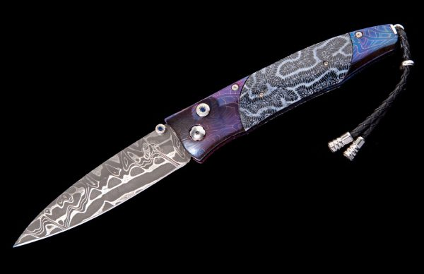 William Henry Limited Edition B30 Blue Lagoon Knife
