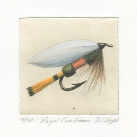 David Chapple Limited Edition Print - Royal Coachman Lure