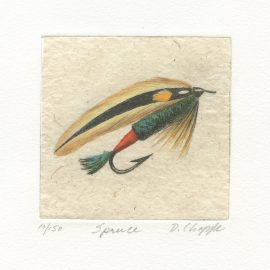 David Chapple Limited Edition Print - Spruce Lure