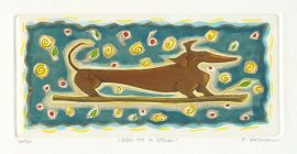 Joanne Kollmon - Dog on a Sttick