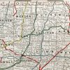 Missouri State Railroad Map (1928)