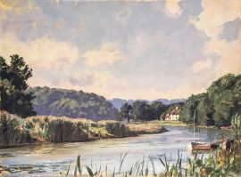 John Stobart Print - A View of the Lieutenant River 1