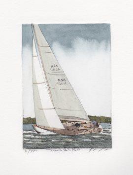 Frank Kaczmarek - Twelve Meter Yacht