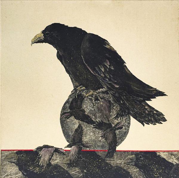 Beki Killorin Limited Edition Print - Raven Spirit