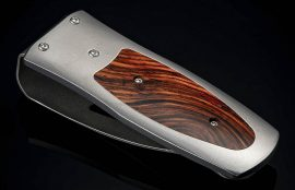 William Henry Pharaoh 'Coco' Money Clip - Cocobolo