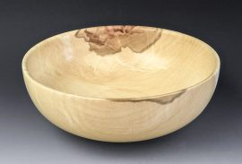 Jerry Kermode - Maple Traditional Edge Bowl