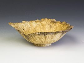 Jerry Kermode - Box Elder Natural Edge Bowl