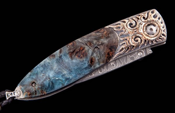 William Henry Limited Edition B05 Blue Flame Knife