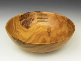 Jerry Kermode - Cherry Traditional Edge Bowl
