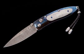 William Henry Limited Edition B05 Blue Streak Knife