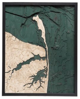 Bathymetric Map Rumson, New Jersey