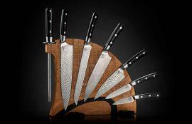 William Henry Kultro Pro Lighting Kitchen Knives - Maple