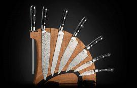 William Henry Kultro Pro Star Kitchen Knives - Maple