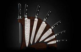 William Henry Kultro Pro Star Kitchen Knives - Black Walnut