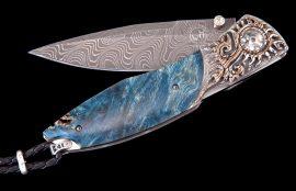 William Henry Limited Edition C19 Blue Blaze Knife
