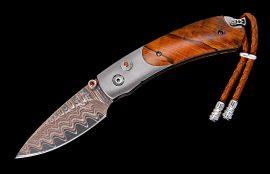 William Henry Limited Edition B09 Orange Wave Knife
